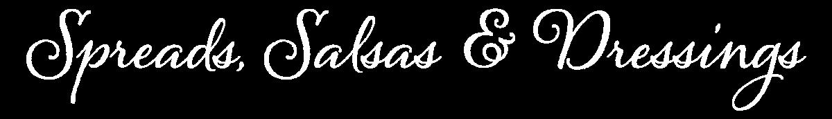 Gillco Spreads, Salsas & Dressings