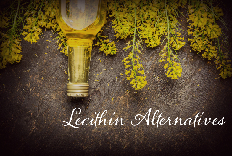 Rapeseed oil and lecithin alternatives