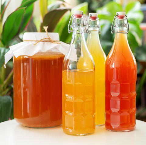 Homemade Organic Kombucha