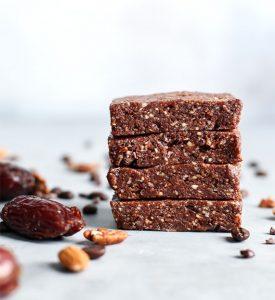 Organic Chocolate Homeade Protein Bar