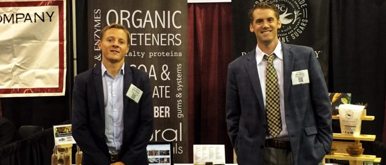 Sales reps at tradeshow