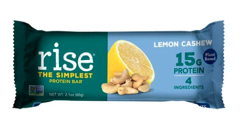 Rise Bar Lemon Cashew Protein Bar
