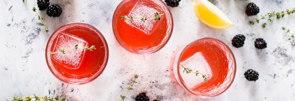 summer cocktails with fruit